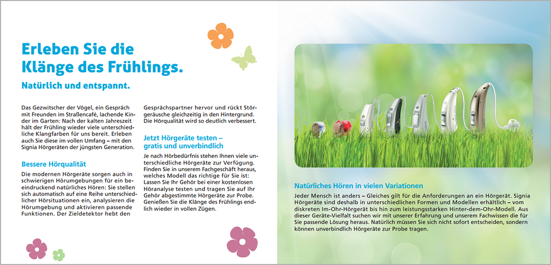 Klänge des Frühlings